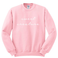 "Harry Styles ""Sweet Creature"" Crewneck Sweatshirt"