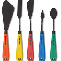 Blick Multi-Colored Painting Knife Set - BLICK art materials