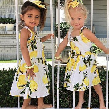 Letty's Lemon Sun Dress
