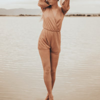 Rose Gold Romper