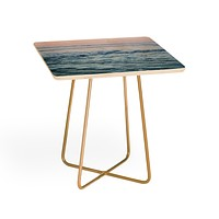 Leah Flores Pacific Ocean Waves Side Table