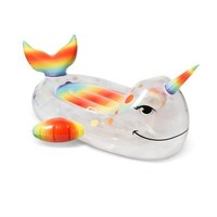 Pride Narwhal Ride Pool Float | eBay