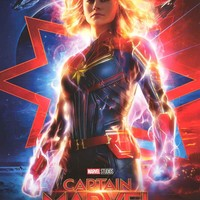 Captain Marvel Movie Poster 24x36