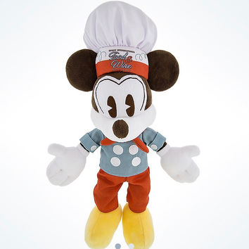 Disney Parks Epcot Food & Wine 2016 Festival Mickey Mouse Chef Plush New w Tags