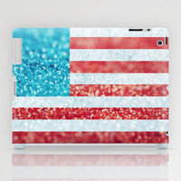 Red, White, and Glitter (Photo of Glitter) iPad Case by Beth - Paper Angels Photography | Society6
