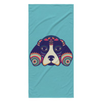 Bewitching Beagle - Beach Towel