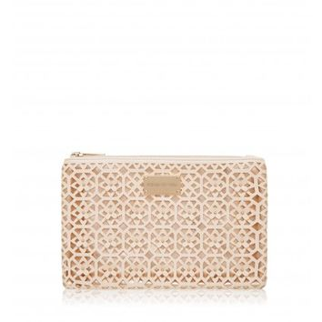 Daria Pencil Case - Peony & Rose Gold