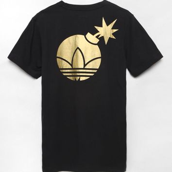 Adidas - The Hundreds Adi-Bomb T-Shirt - Mens Tee - Black
