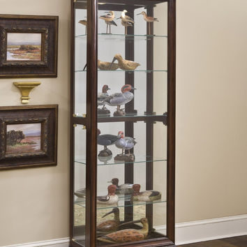 Gallery Cherry Curio Cabinet by Pulaski Furniture