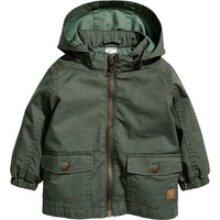 H&M Cotton Parka $29.99