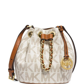 Michael Michael Kors Small Frankie Signature Crossbody
