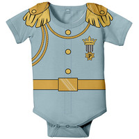 Prince Charming Baby Bodysuit, Personalized Prince Charming Birthday Outfit, Baby Prince One-Piece