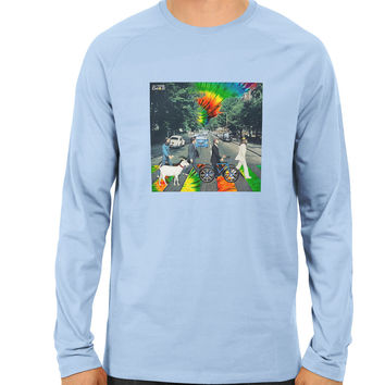 Trippy Abbey Road Longsleeve