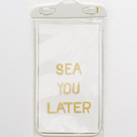Aerie Underwater Phone Bag, White