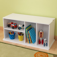 KidKraft Add on Storage Unit - White - 14179