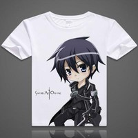 Sword Art Online Short Sleeve Anime T-Shirt V14