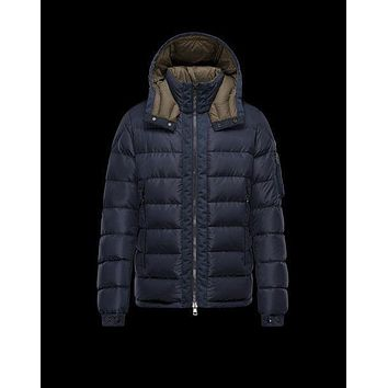 Moncler Arcs Jacket Mens Dark Blue