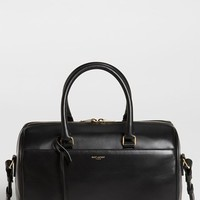 Saint Laurent 'Duffle 6' Leather Satchel
