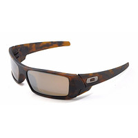 New Oakley Sunglasses Gascan Matte Tortoise w/Tungsten #9014-1660 New In Box