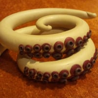 3/8 Octopus Gauged by SamBBlaised on Etsy
