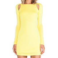 Ladakh Chill Out Dress in Yellow