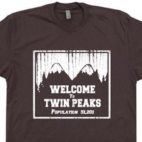 Twin Peaks T Shirt Twin Peaks Shirt David Lynch Shirt Vintage Movie Tees