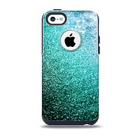 The Grungy Teal Texture Skin for the iPhone 5c OtterBox Commuter Case