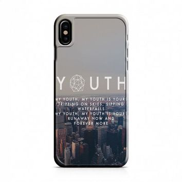 Troye Sivan Youth Lyrics iPhone X Case