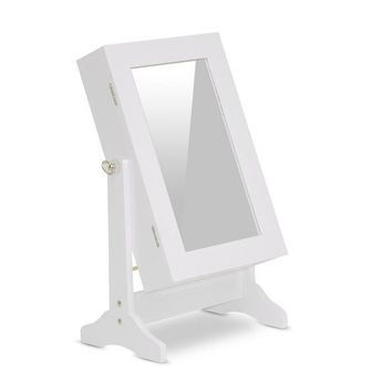 Baxton Studio Wessex White Tabletop Mirror Set of 1