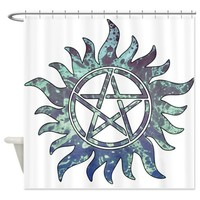 Supernatural Symbol Shower Curtain