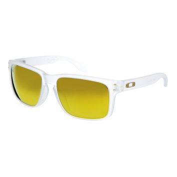 Oakley Shaun White Gold Series Mirrored Sunglasses - Clear mirror