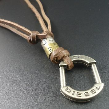 Mens Vintage Necklace Diesel