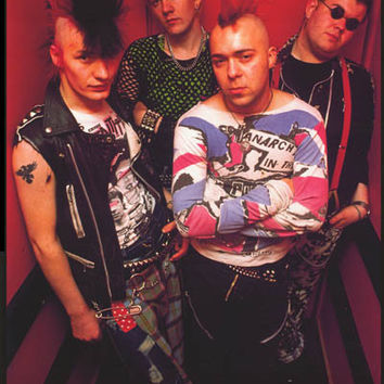 The Exploited London 1982 Poster 24x33