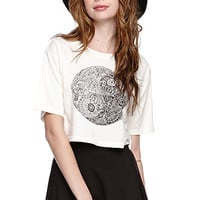 LA Hearts Ying Yang Cropped T-Shirt at PacSun.com