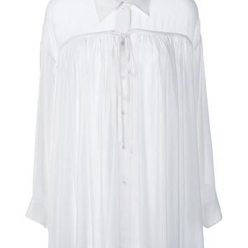 CHLOÉ | Shirred Long Sleeve Shirt | Womenswear | Browns Fashion
