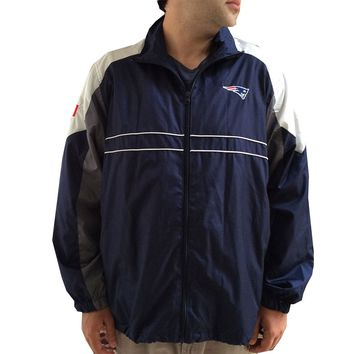 Mens New England Patriots Windbreaker Jacket (XL)