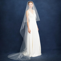 J. Crew Twigs & Honey Cathedral Veil