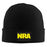 NRA National Rifle Association Beanie Hat For Men And Women Black