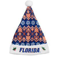 Florida Gators Knit Santa Hat - 2015