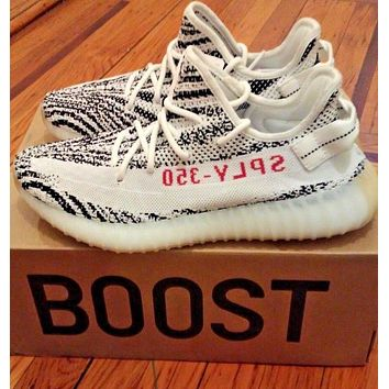 ADIDAS YEEZY BOOST 350 V2 ZEBRA 100% AUTHENTIC SIZE 10.5 CP9654