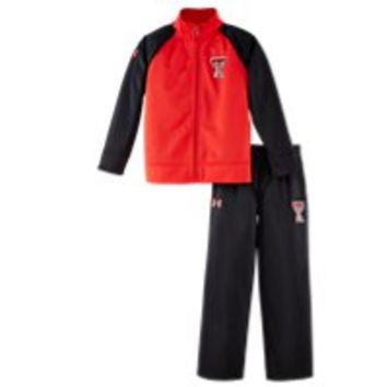 Under Armour Boys' Infant Texas Tech Track Set