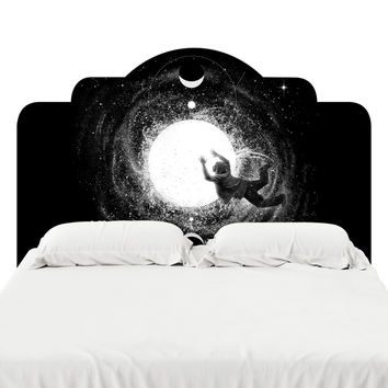 Light Burst Headboard Decal
