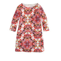 crewcuts Girls Jules Dress In Neon Coral Floral