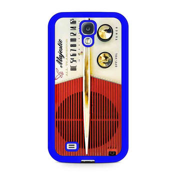 Vintage Radio Samsung Galaxy Case Available For Galaxy S4 Case Galaxy S5 Case Galaxy S6 Case Galaxy S6 Edge Case