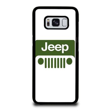 JEEP LOGO Samsung Galaxy S8 Case Cover
