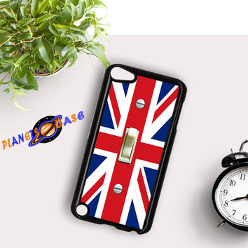 British Flag switch plate iPod Touch 6 Case Planetscase.com