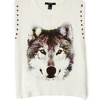Studded Wolf Muscle Tee