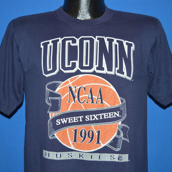 90s UCONN Huskies 1991 Sweet Sixteen t-shirt Small