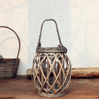 Handmade Large Vintage Lantern/bedroom decor/rustic home decor