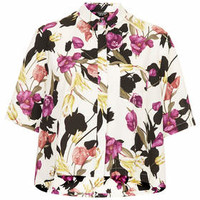MULTI FLOWER SHIRT